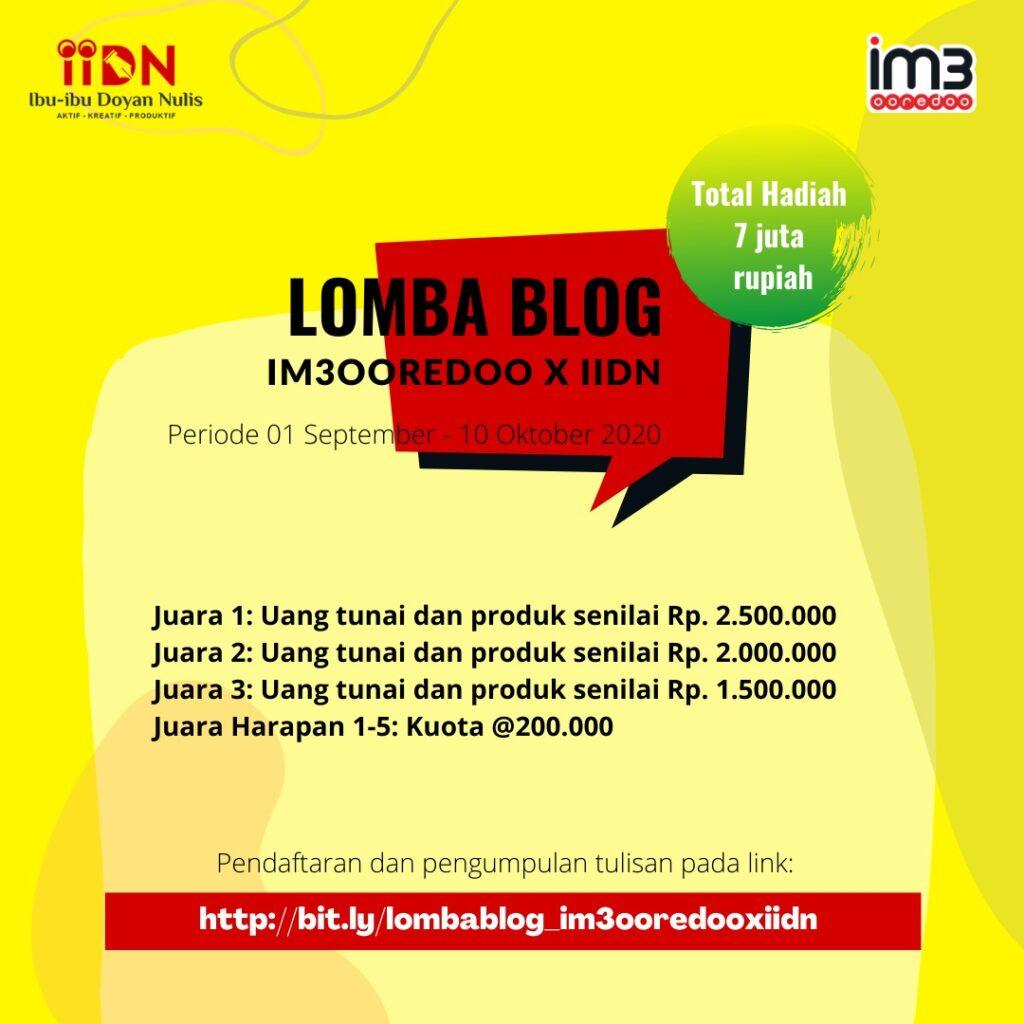 Lomba Blog IM3OoredooxIIDN