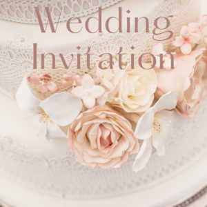 The White Wedding Digital Invitation