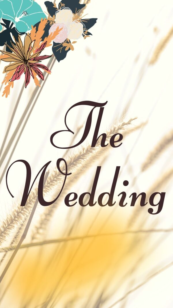 The Wedding Cover-blue ilalang