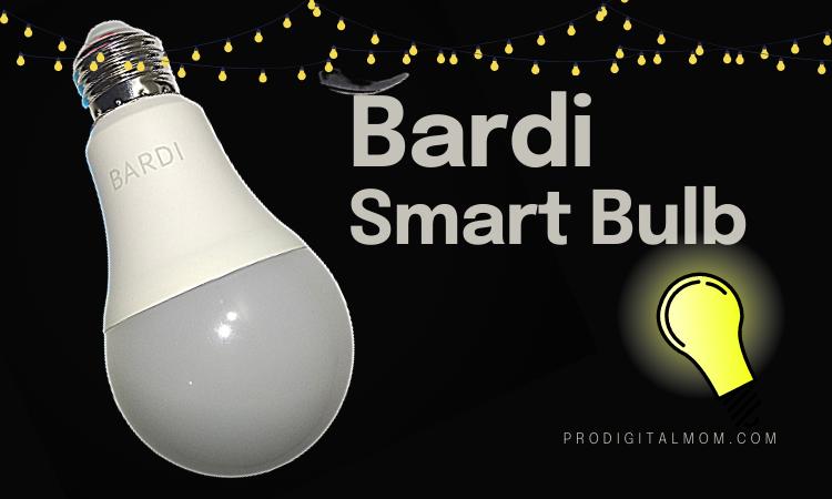 bardi smart bulb 9W-RGBWWW
